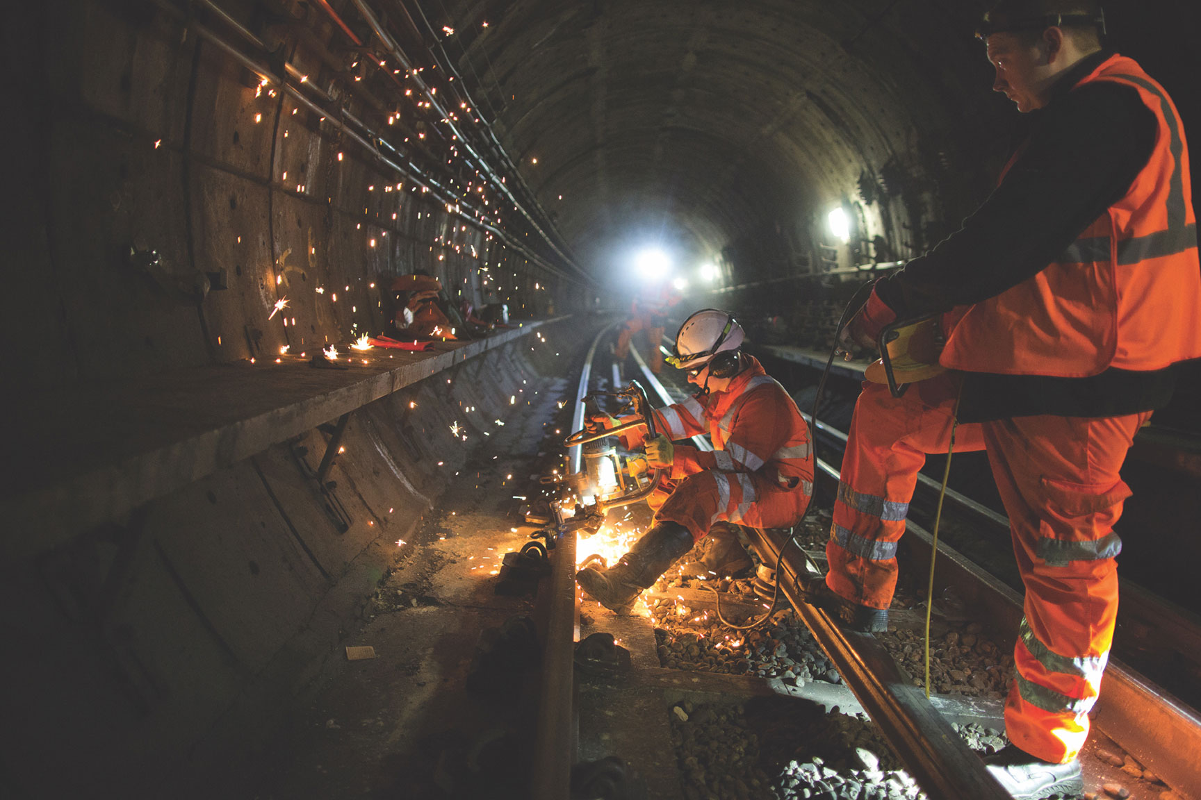 Award-winning picture of the London Underground